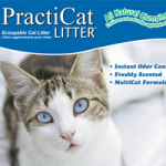 PractiCat All Natural Clumping Litter
