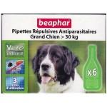 Beaphar Αμπούλες 30 kg<  (6τεμ για 3 χρήσεις.)
