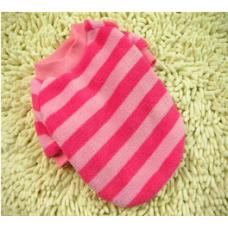 Ριγέ Μπλουζάκι φούξια -ροζ