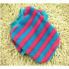 Ριγέ Μπλουζάκι φούξια- μπλε